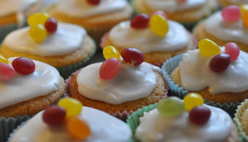 Fairy Cakes That Look Like Fishes Recipe