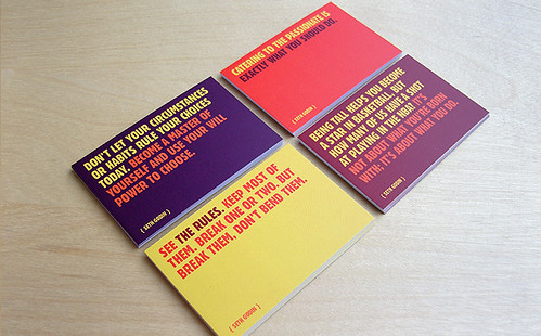 Seth Godin Quote Cards | by praguelondon