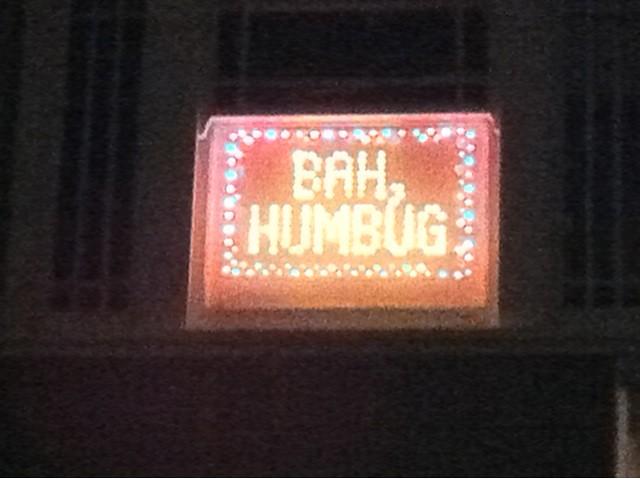 Christmas lights? Bah Humbug! | Posted by twitter.com/NiferC… | Flickr