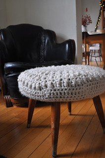 crochet ottoman cover | by elsiemarley