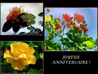Carte Postale Joyeux Anniversaire Gilles Poyet Flickr