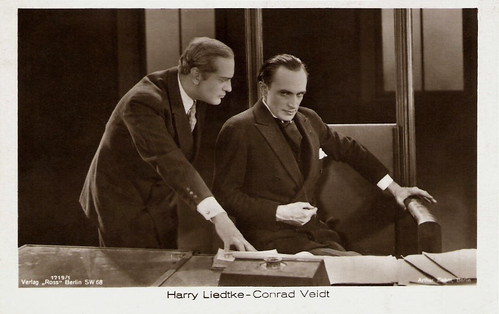 Conrad Veidt, Harry Liedtke