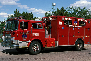 "FDNY ""Special Operations"" DeCon Support 