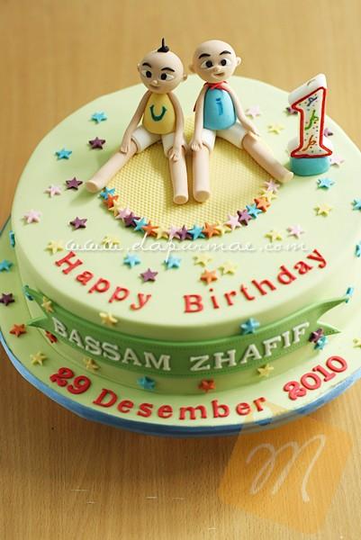 Upin Ipin Birthday Cake dapurMaecom Flickr