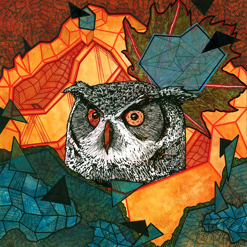 Owl In Nest (album cover) | by Alex DeSpain