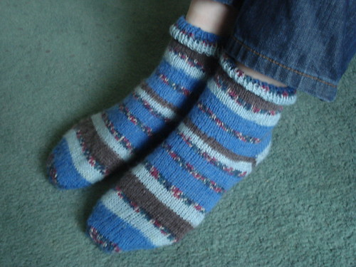 Go Go's on the bus socks | by Arianwen:)