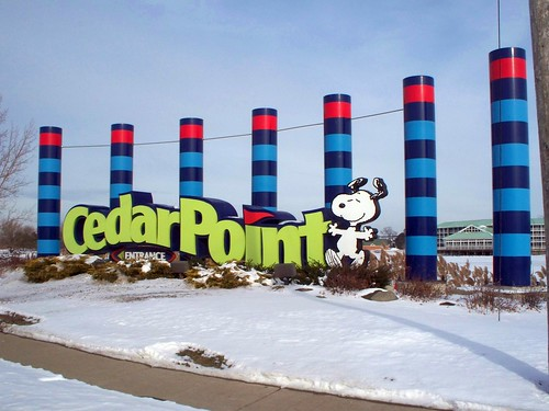 Cedar Point - Off-Season Welcome Sign | by Andrew Borgen