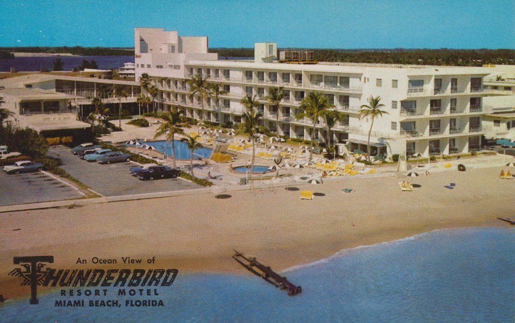 Thunderbird Resort Motel - Miami Beach, Florida