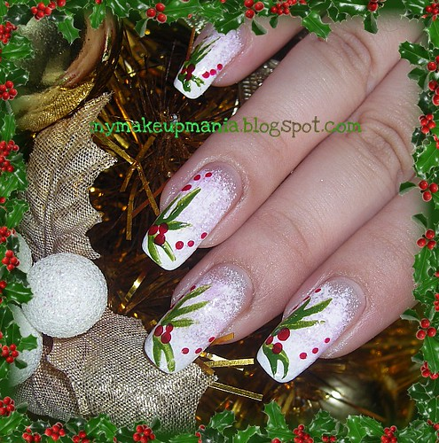Christmas Nail Design | by anastaciapark