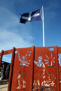 Eureka Flag and sculpture | by John Englart (Takver)
