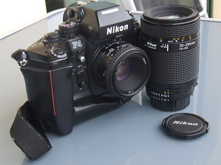 Nikon F4s SLR Camera DSCF4266 | by THE OLYMPUS CAMERAS COLLECTOR