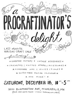 A Procraftinator's Delight: Last-Minute Holiday Craft Sale | by Kim | Affairs of Living