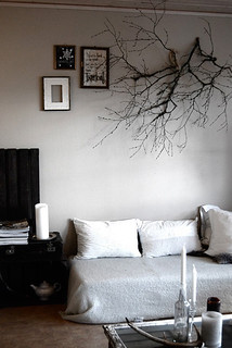 branch as wall decoration | by the style files