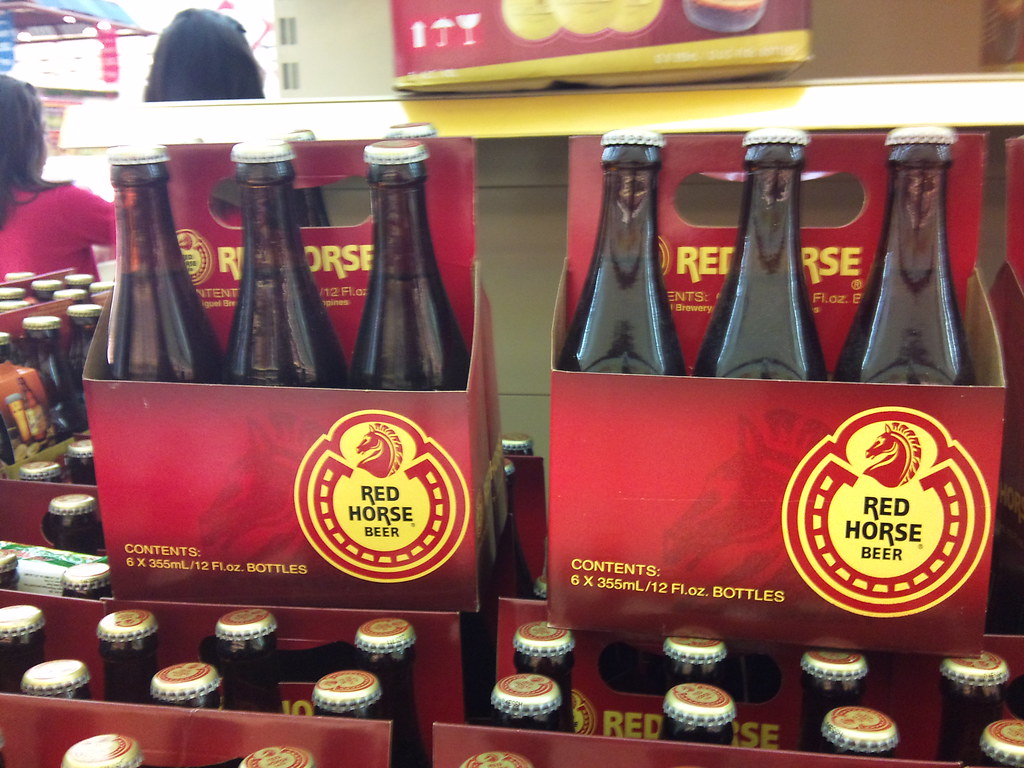 Red horse beer alcohol content