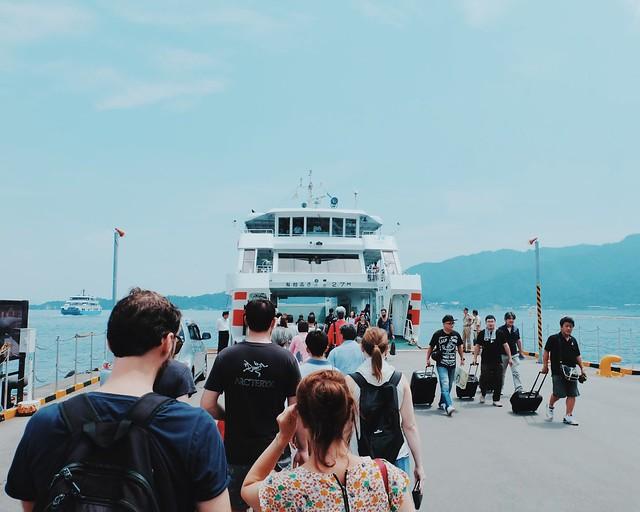Miyajima Island, Hiroshima, Japan