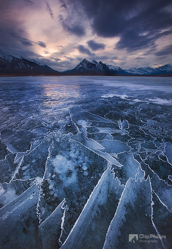 Abraham Lake Ice Map | by Chip Phillips