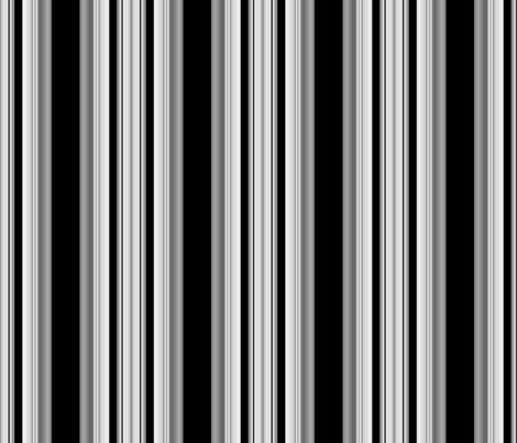 Black And White Stripes Fabric Design My Black And