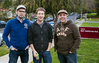 Curt Simon Harlinghausen, Mark Zuckerberg, Michael Praetorius | by prae