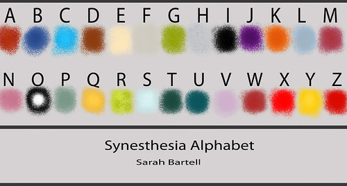Synesthesia Alphabet | by Little Lioness