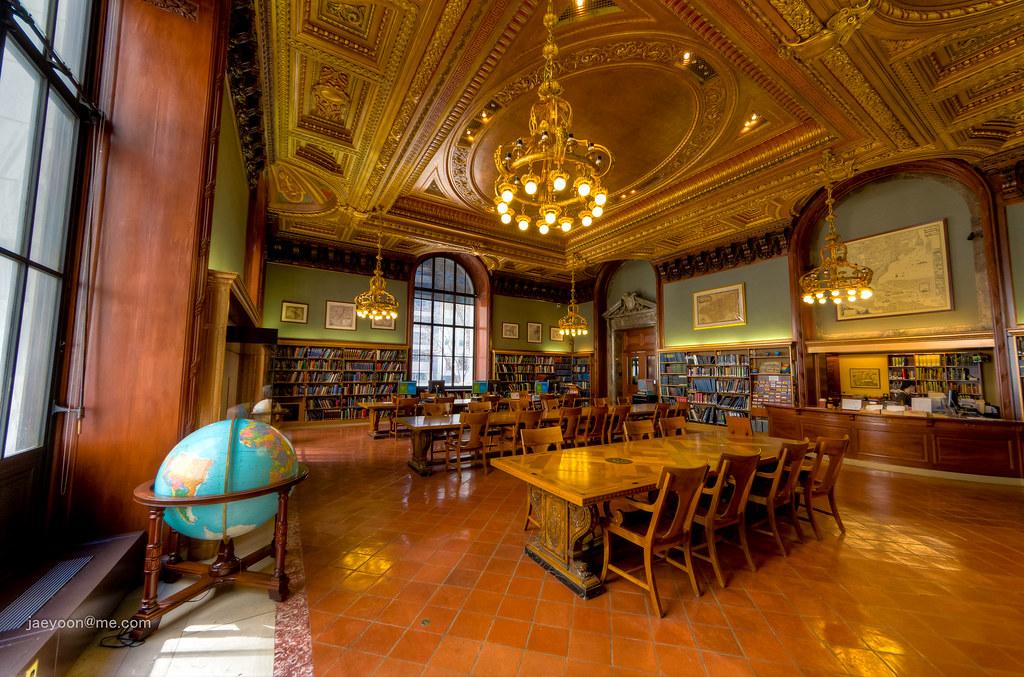 New York Public Library - Map Room | jaeyoon@me.com | Jae Yoon | Flickr