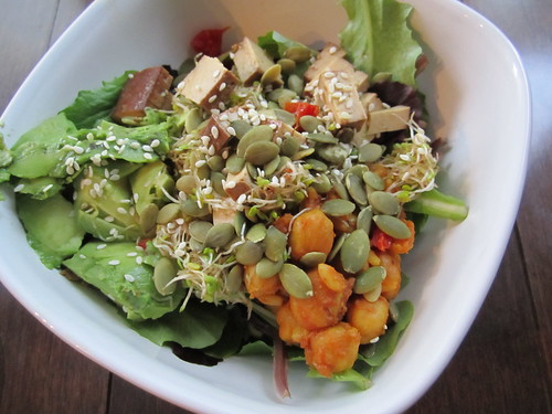 Weekend Salad | by veganbackpacker