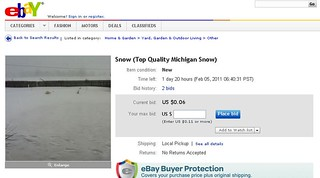Snow For Sale on eBay | by Pure Michigan