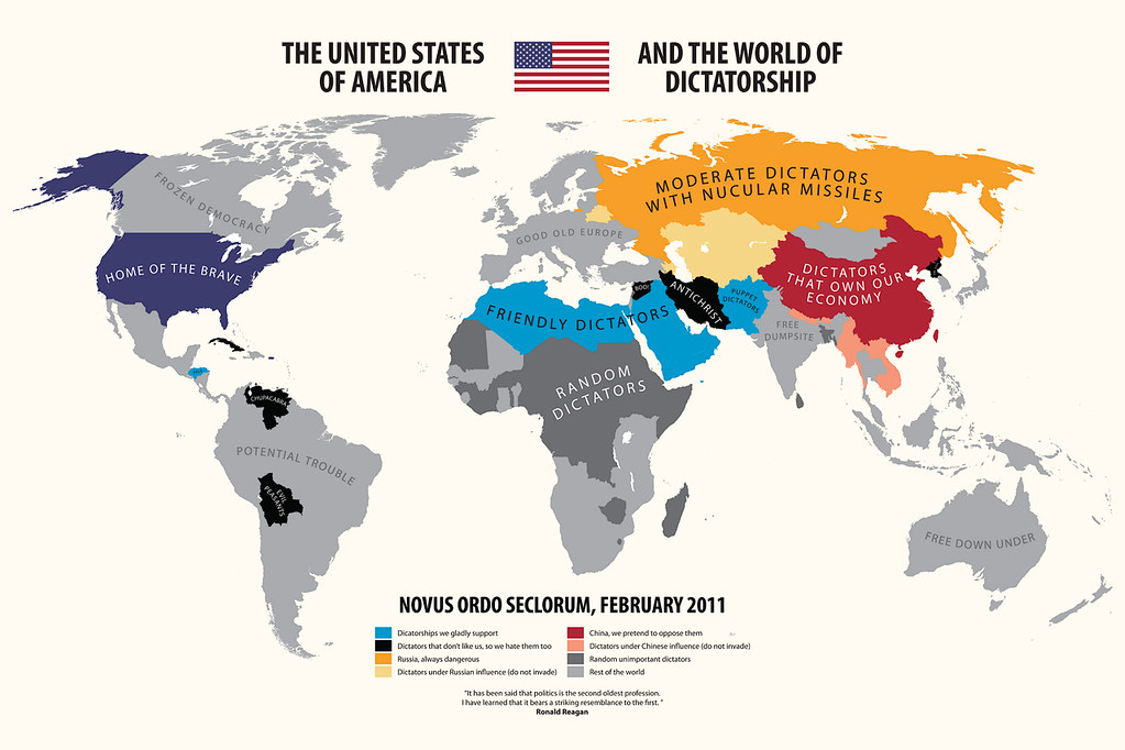 the united states of america and the world of dictatorship flickr