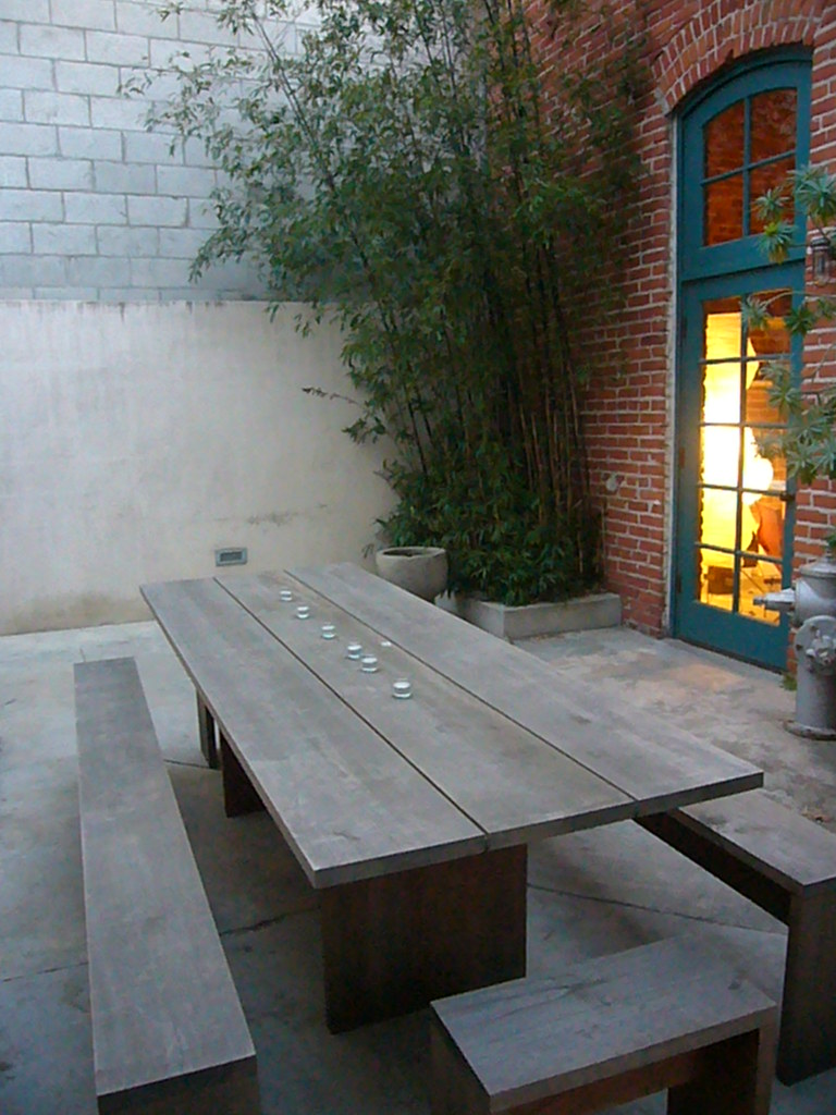 ... Modern Picnic Table | By Heath U0026 The B.L.T. Boys