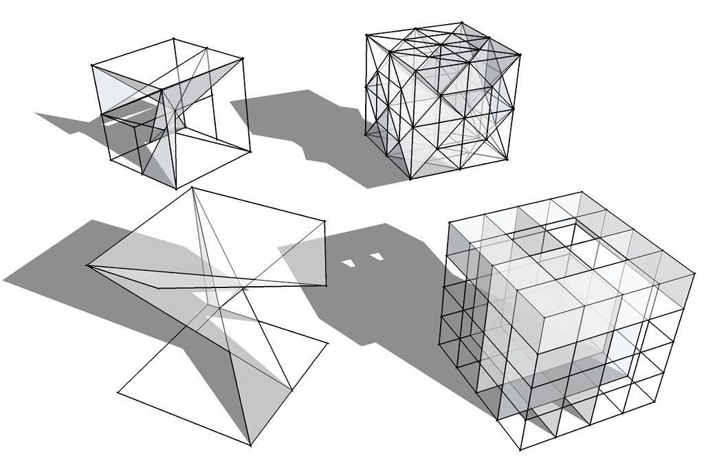 estructuras espaciales cubo   Enzo Villarroel   Flickr