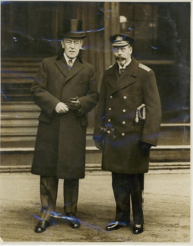 President Wilson and King George V of England | by Woodrow Wilson Presidential Library Archives