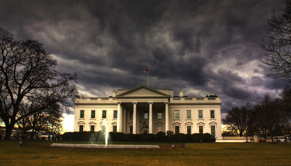 White House Storm Hdr 1 A Picture Of A Storm Over The Whit Flickr