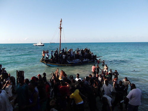 UNHCR News Story:UNHCR training put into practice as migrant vessel arrives at Turks and Caicos Islands | by UNHCR