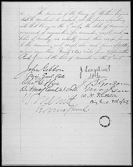 Articles Of Agreement Relating To The Surrender Of The Arm Flickr