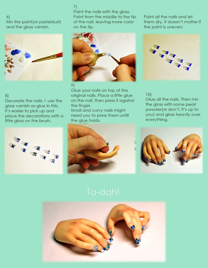 acrylic fake nails tutorial part 2   Few people were interes…   Flickr