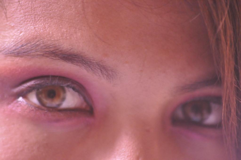 ojos color miel durante el proceso de mi fotoensayo por p flickr