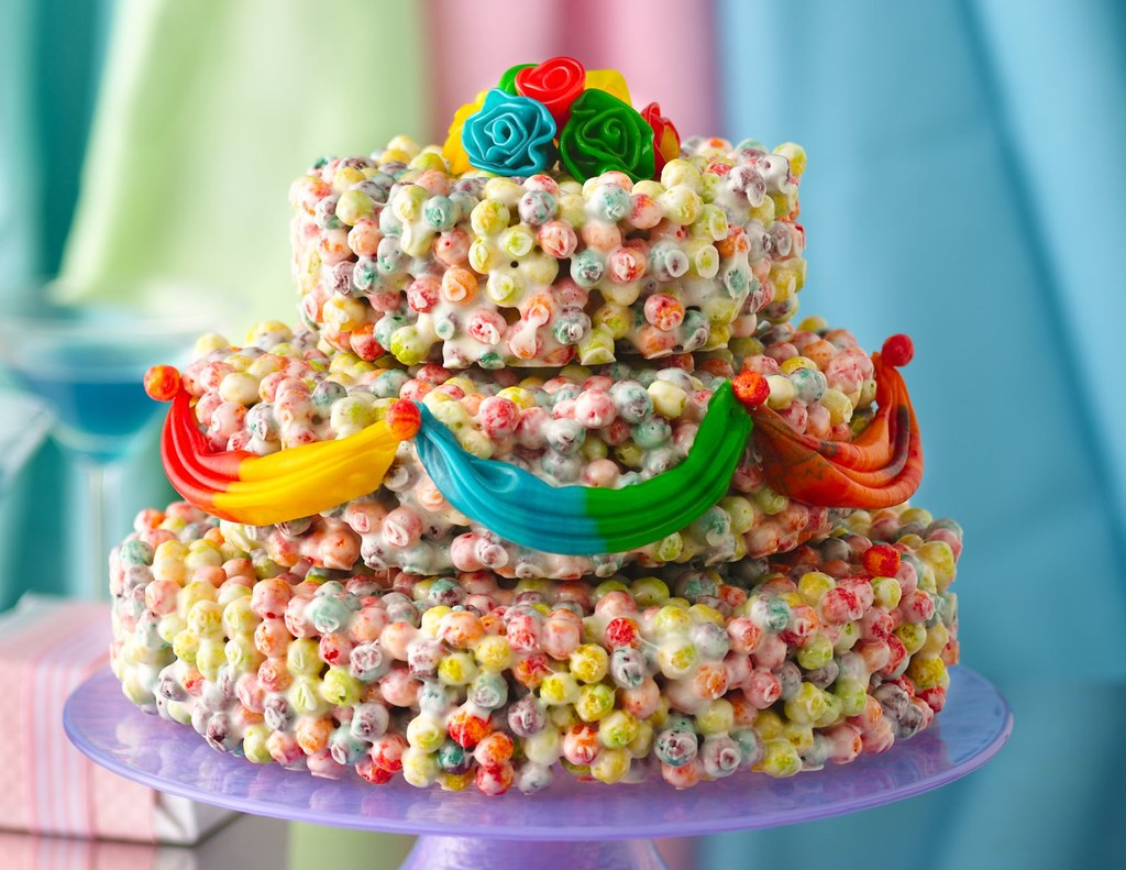 Cereal Wedding Cake Recipe INGREDIENTS 23 cup butter or Flickr