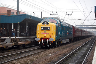 "55022 ""Royal Scots Grey"", Doncaster 5 March 2011 