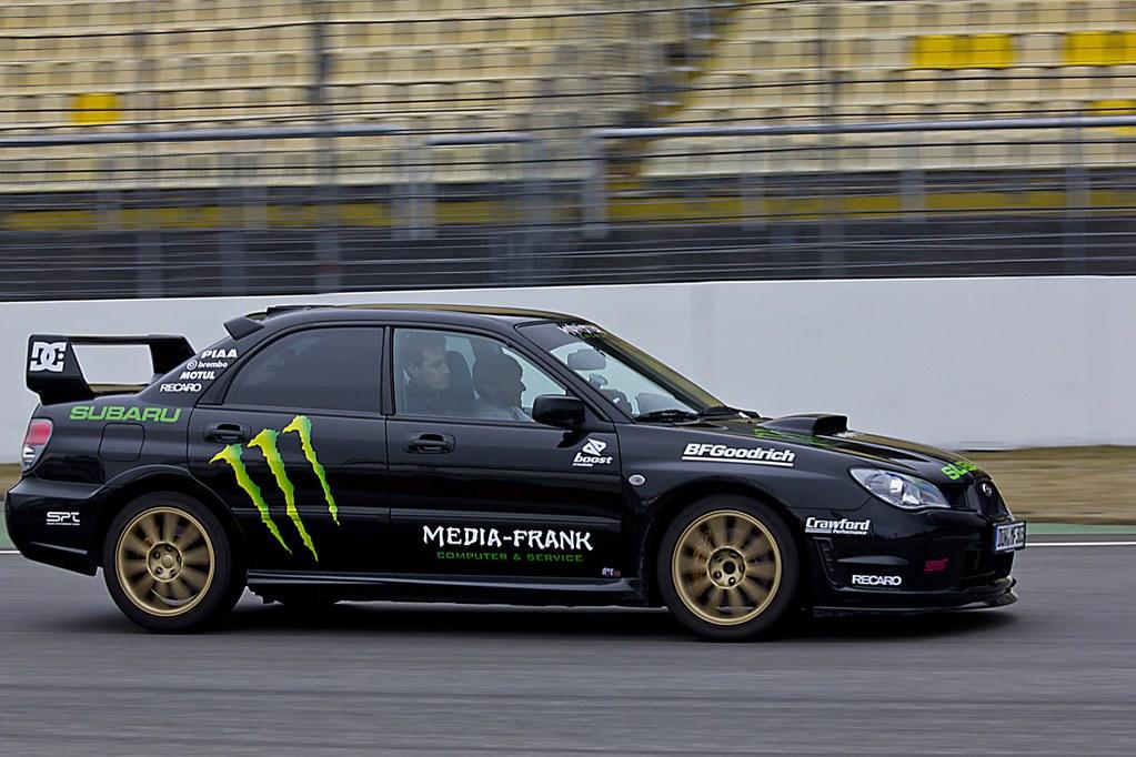 Bon ... Subaru Impreza WRX STI Monster Energy Like Ken Block | By Sascha Bentz