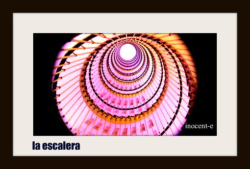 la escalera,.........¡ qué, yo........ví ! | by Inocent-e