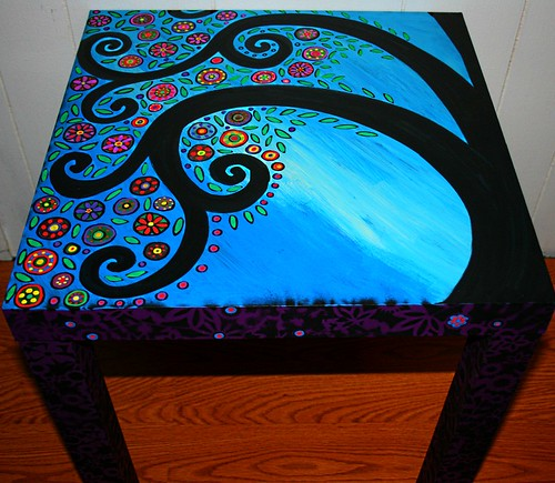 Hand Painted Table Ideas