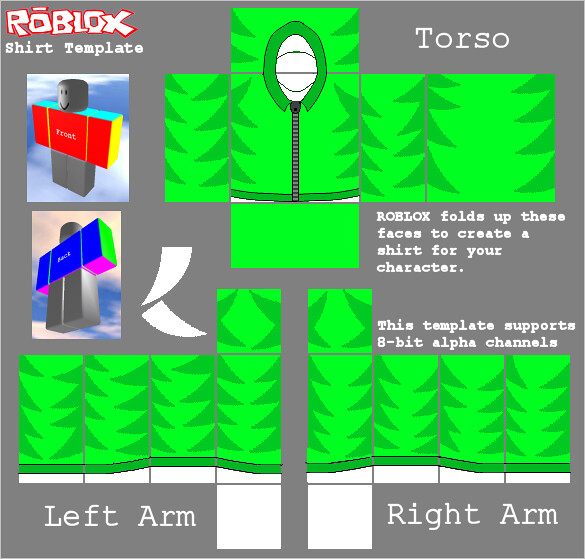 Green Sweatshirt Template For Roblox Lax14 Lax14iscool Flickr