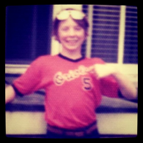 Me at twelve. Before free agency ruined baseball. | by ObieVIP