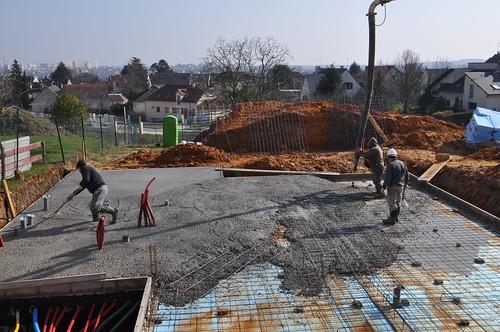 Maison air et lumi re 02 03 2011 suivez le chantier en for Maison saine air et lumiere