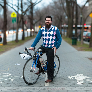 #BikeNYC Portrait: Shmuli | by Dmitry Gudkov
