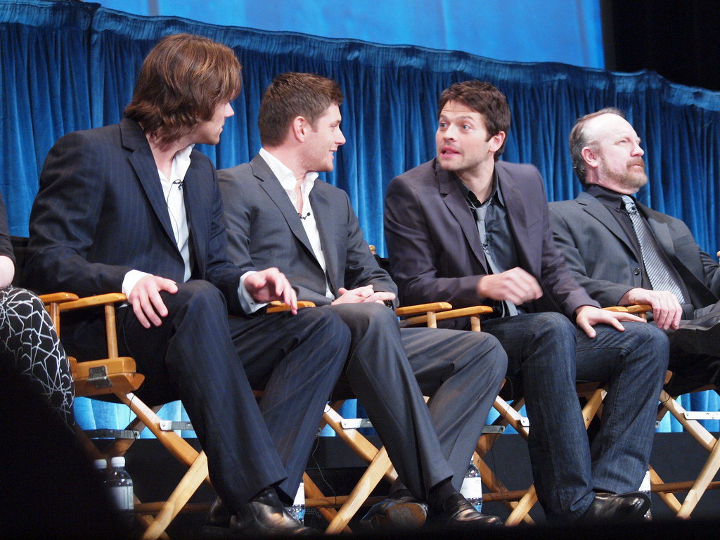 Jensen Ackles Jared Padalecki Misha Collins Jim Beaver PaleyFest 11