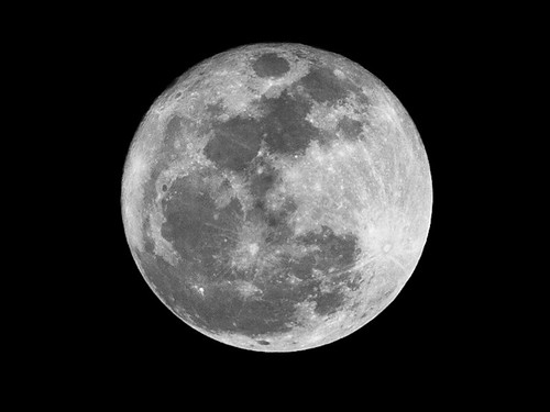 Supermoon 19 March 2011 - 5x Crop | by Bill Beebe