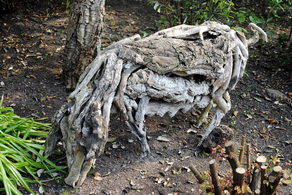 Wild boar, never chose this way | This sculpture of what wou… | Flickr