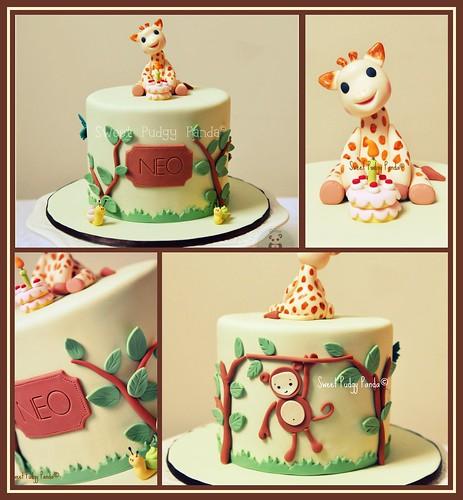 Sophie The Giraffe Cake Pan