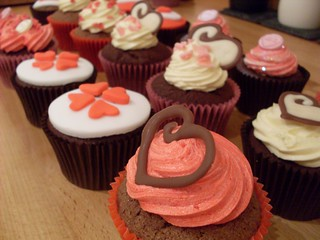 Valentines day cupcakes | by nettys cakes and catering shropshire