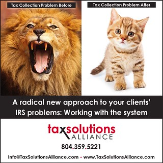 Tax Solutions Alliance Ad #2 | by Bright Orange Advertising